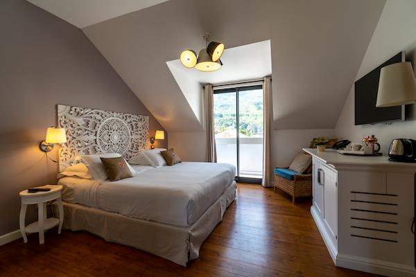 Chambre deluxe Tsilaosa Hôtel Cilaos