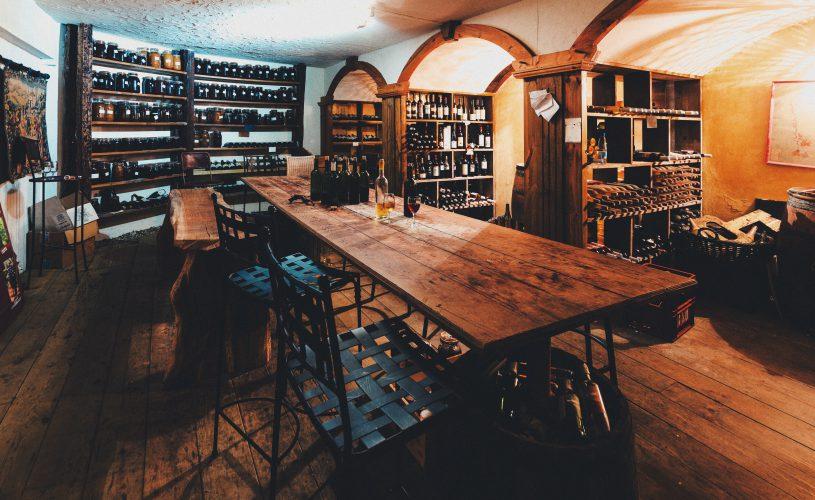 Cave à vins du Tsilaosa Hotel