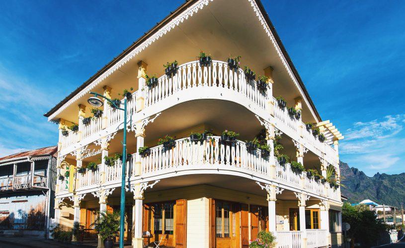 Hotel Tsilaosa dans le village de Cilaos